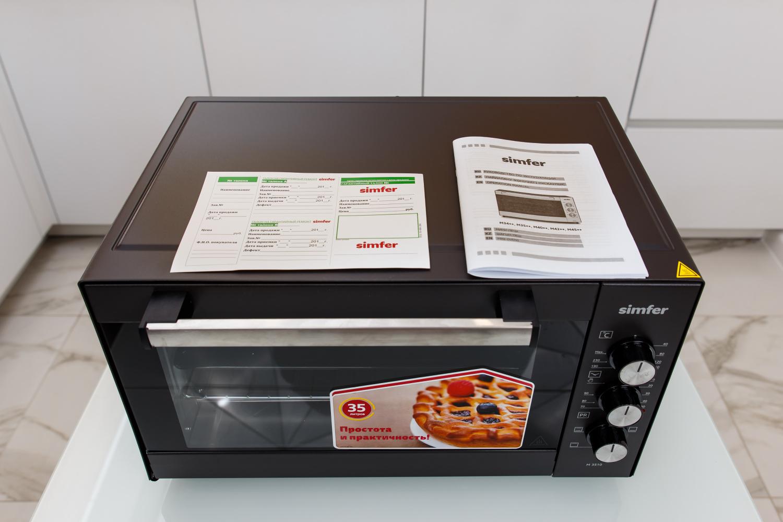 мини печь электрическая с конвекцией симфер